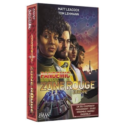 Pandemic Zone Rouge Europe - Jeux