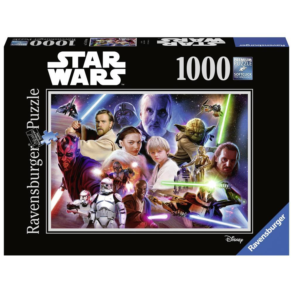 CT Ravensburger 1000 mcx Star Wars 1 - Casse-tête