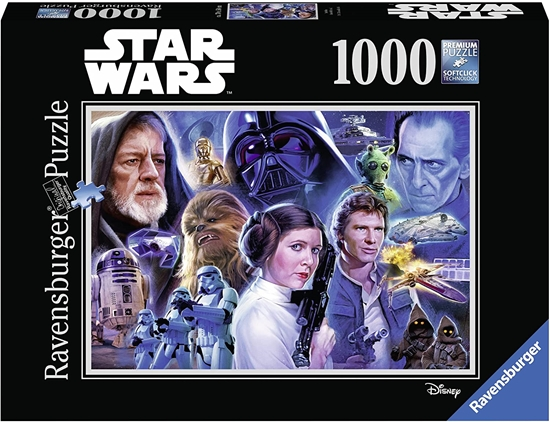 CT Ravensburger 1000 mcx Star Wars 2 - Casse-tête