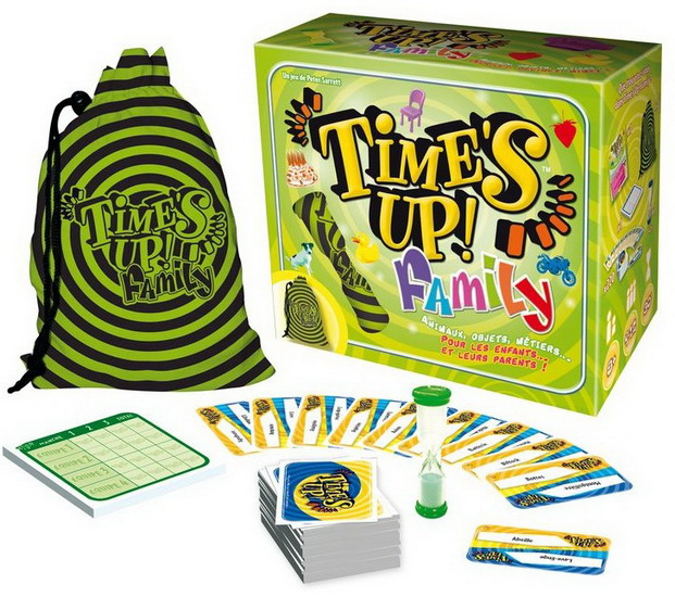 Time's Up Family - Jeux